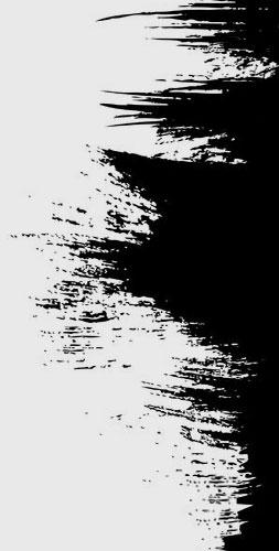 black banner edge