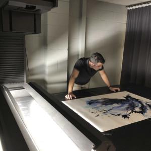 Artwork scanning high resolution