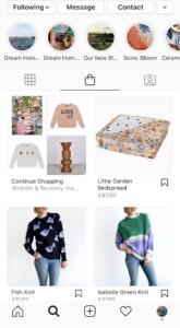 Jumbled Shop Page Example